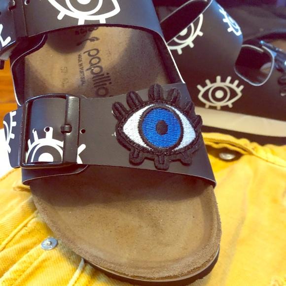 77ecc382f Birkenstock Shoes - BLACK EVIL EYE BIRKENSTOCKS